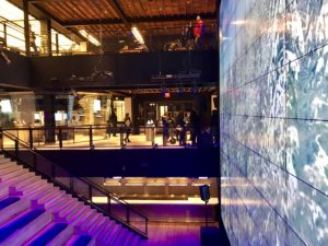experiential retail digital theater
