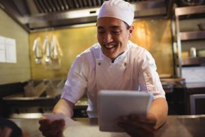 beyond mobile device restaurant technology