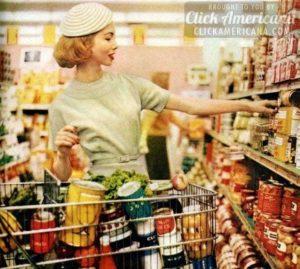 1950s supermarket