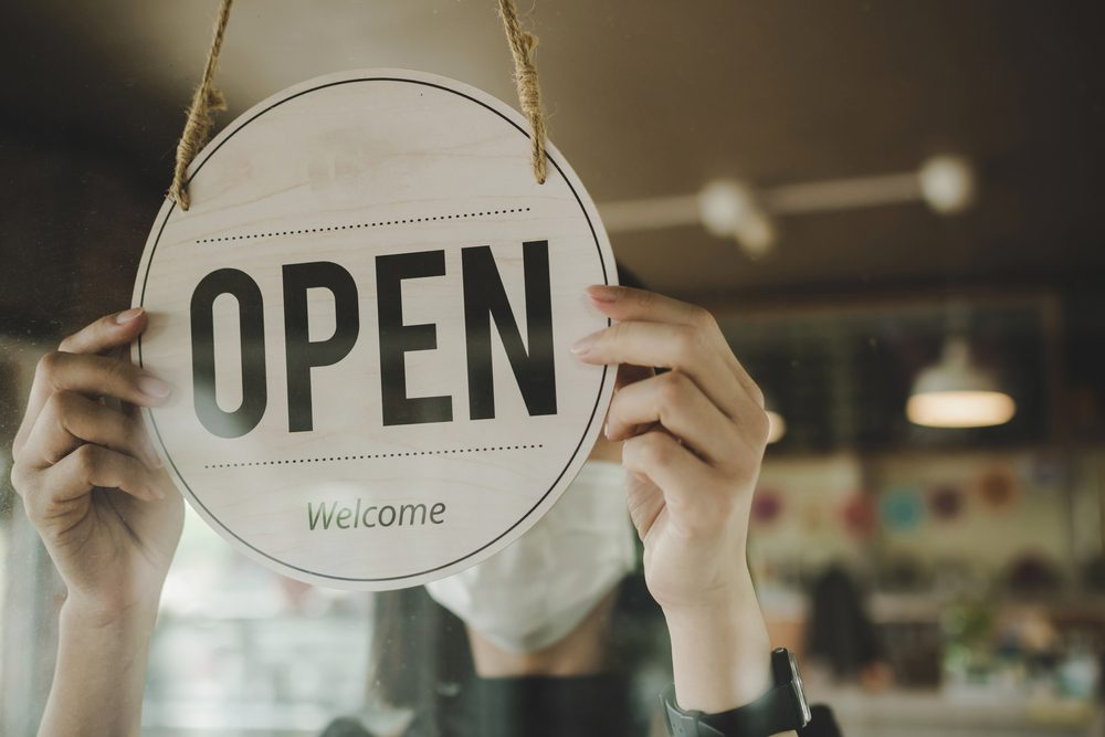 retail stores reopen